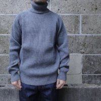 VINCENT ET MIREILLE (ヴァンソン エ ミレイユ) TURTLE NECK SWEATER 8GG AZE グレー