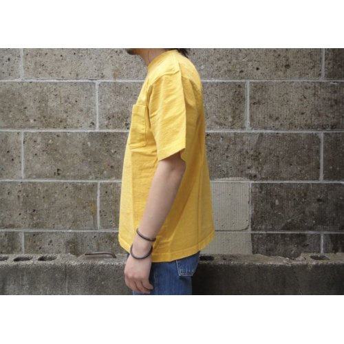 他の写真2: CAMBER (キャンバー) 8oz MAX WEIGHT POCKET T-SHIRT PIGMENT DYE マスタード