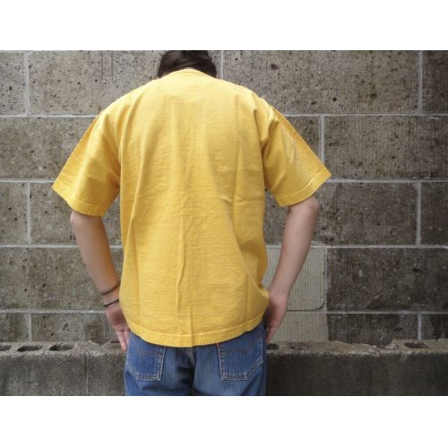 他の写真3: CAMBER (キャンバー) 8oz MAX WEIGHT POCKET T-SHIRT PIGMENT DYE マスタード