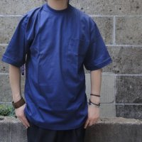 CAMBER (キャンバー) 6oz FINEST CASUAL WEIGHT POCKET T-SHIRT ネイビー