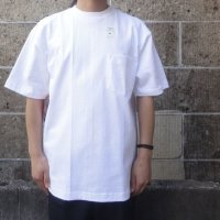 """再入荷""CAMBER (キャンバー) 8oz MAX WEIGHT POCKET T-Shirts ホワイト"